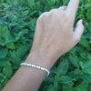 Zirkon Baget Taşlı Gümüş Su Yolu Trend Bileklik